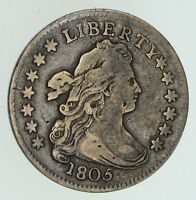 1805 DRAPED BUST DIME - CIRCULATED 4711