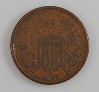 1865 TWO-CENT PIECE G32