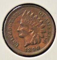 1890 INDIAN HEAD ONE CENT - 1 COIN LOT 2 @C