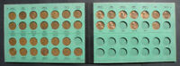 1948-1963 LINCOLN CENT SET IN MEGHRIG ALBUM