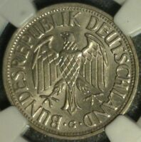 1950 G GERMANY MARK NGC MINT STATE 62