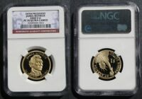 2008 S JAMES MONROE DOLLAR NGC PF70 ULTRA CAMEO