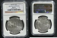 2010 W DISABLED VETERANS DOLLAR NGC MS70