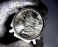 1880 S BLAST WHITE UNC MORGAN SILVER DOLLAR FROM A ORIGINAL ROLL WILL GRADE OUT