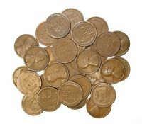 LOT OF 30 1919 D 1C LINCOLN WHEAT CENT PENNIES G GOOD 128138