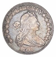 1807 DRAPED BUST HALF DOLLAR - CIRCULATED 8276