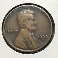 1924-D 1C LINCOLN CENT, SEMI-KEY DATE 36733