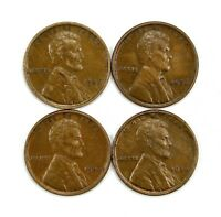 LOT OF 4 1926 P 1C LINCOLN WHEAT CENT PENNIES AU / UNC UNCIRCULATED 130757