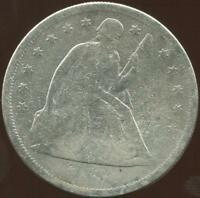 1860-O SEATED LIBERTY DOLLAR | VG | EARLY DOLLAR | TYPE COIN | NR RC9062
