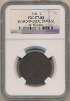 1810 CLASSIC HEAD LARGE CENT. NGC VG DETAILS