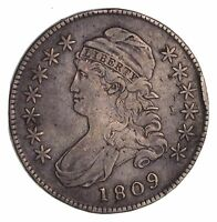 1809 CAPPED BUST HALF DOLLAR - CIRCULATED 1469