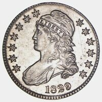 1829 CAPPED BUST HALF DOLLAR - CIRCULATED 5784