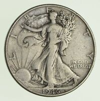 1946 WALKING LIBERTY HALF DOLLAR - DDR 9723