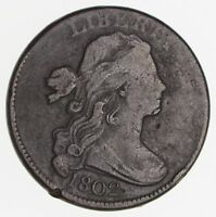 1802 DRAPED BUST LARGE CENT - CIRCULATED 2432