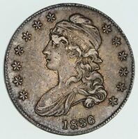 1836 CAPPED BUST HALF DOLLAR - CIRCULATED 3576