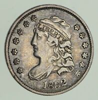 1832 CAPPED BUST HALF-DIME - CIRCULATED 9651
