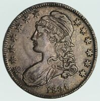 1834 CAPPED BUST HALF DOLLAR - CIRCULATED 3575