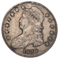 1830 CAPPED BUST HALF DOLLAR - CIRCULATED 6951