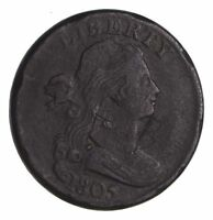 1805 DRAPED BUST LARGE CENT - CIRCULATED 1441