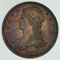 1839 CAPPED BUST HALF DOLLAR - CIRCULATED 4594