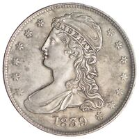 1839 CAPPED BUST HALF DOLLAR - CIRCULATED 6892