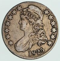 1825 CAPPED BUST HALF DOLLAR - CIRCULATED 3570