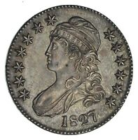 1827 CAPPED BUST HALF DOLLAR - CIRCULATED 1264