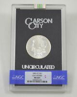 MINT STATE 64 1883-CC MORGAN SILVER DOLLAR - CARSON CITY - GSA HOARD - NGC GRADED 6247