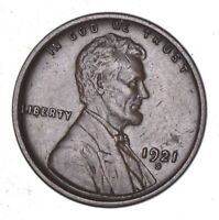 1921-S LINCOLN WHEAT CENT - CIRCULATED 7844