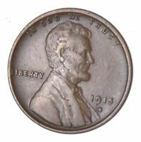 1915-S LINCOLN WHEAT CENT - CIRCULATED 8034