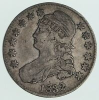 1832 CAPPED BUST HALF DOLLAR - CIRCULATED 3566