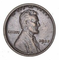 1922-D LINCOLN WHEAT CENT - CIRCULATED 7851