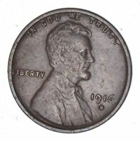 1916-D LINCOLN WHEAT CENT - CIRCULATED 7859