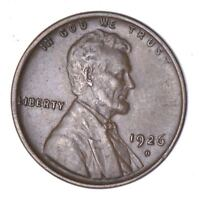 1926-D LINCOLN WHEAT CENT - CIRCULATED 8050