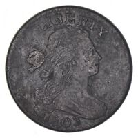 1803 DRAPED BUST LARGE CENT - CIRCULATED 8120