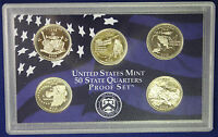 2002 US MINT 50 STATE QUARTERS PROOF SET AS PICTURED