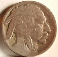 1925 S BUFFALO NICKEL   ACID TREATED DATE; APPEARS TO HAVE PART. LETTERED CHIN