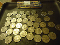 1992 P ROLL OF JEFFERSON NICKELS  >> COMBINED SHIPPING <<