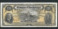 Click now to see the BUY IT NOW Price! 1914 $10 TEN DOLLARS BANQUE D'HOCHELAGA. CH 360 22 04. JUST 21 EXAMPLES KNOWN