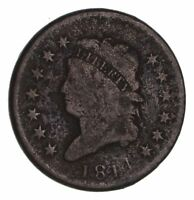 1814 CLASSIC HEAD LARGE CENT - CIRCULATED 1447