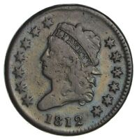 1812 CLASSIC HEAD LARGE CENT - CIRCULATED 1883
