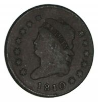 1810 CLASSIC HEAD LARGE CENT - CIRCULATED 1289