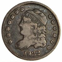 1832 CAPPED BUST HALF DIME - CIRCULATED 1711