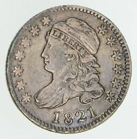 1821 CAPPED BUST DIME - CIRCULATED 4663