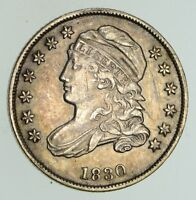 1830 CAPPED BUST DIME - NEAR UNCIRCULATED 4749
