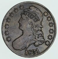 1831 CAPPED BUST HALF DOLLAR - CIRCULATED 3569