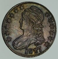 1827 CAPPED BUST HALF DOLLAR - NEAR UNCIRCULATED 4652