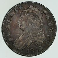 1821 CAPPED BUST HALF DOLLAR - CIRCULATED 4603