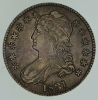 1831 CAPPED BUST HALF DOLLAR - CIRCULATED 4647