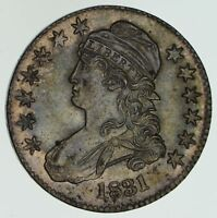 1831 CAPPED BUST HALF DOLLAR - NEAR UNCIRCULATED 4579